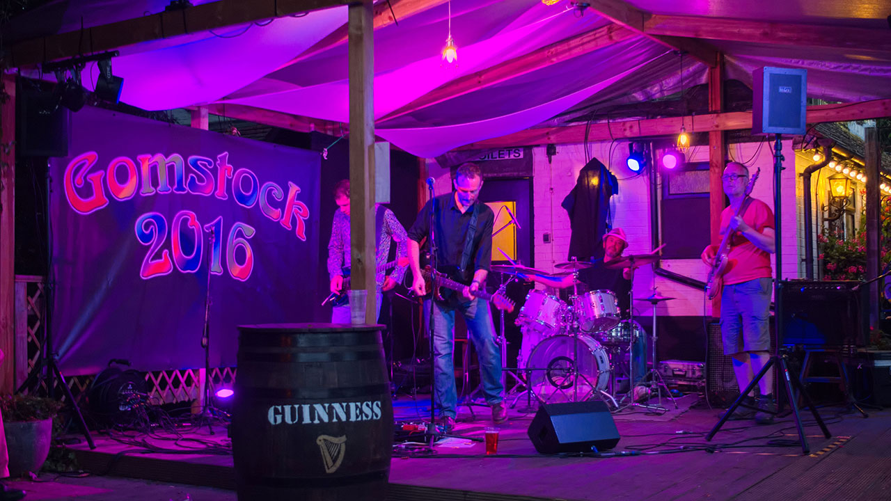 Gomstock 2016 - sound and light for local events with a big impact for small prices - Higher Audio